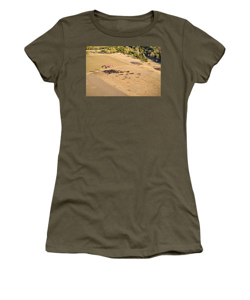 Cows And Trucks Women's T-Shirt