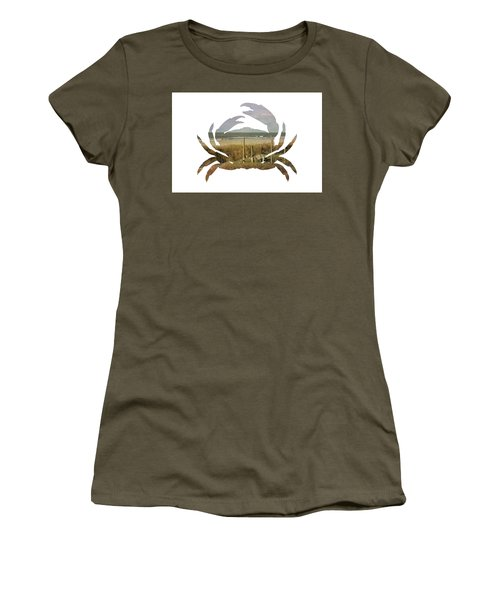 Crab Beach Women's T-Shirt