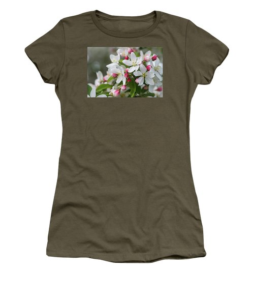 Crabapple Blossoms 12 - Women's T-Shirt (Athletic Fit)