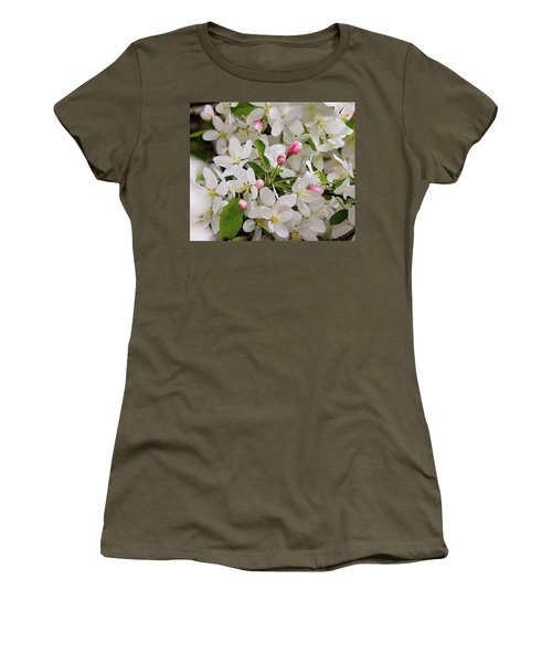 Crabapple Blossoms 5 Women's T-Shirt