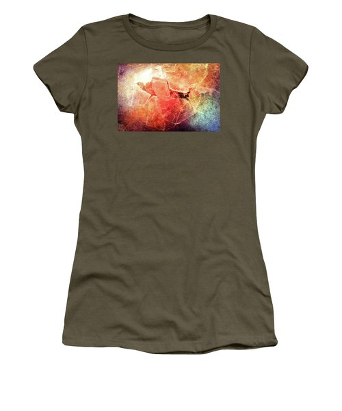 Cracks Of Colors Women's T-Shirt