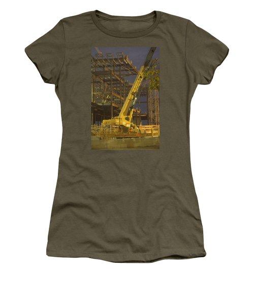 Craning And Working Women's T-Shirt