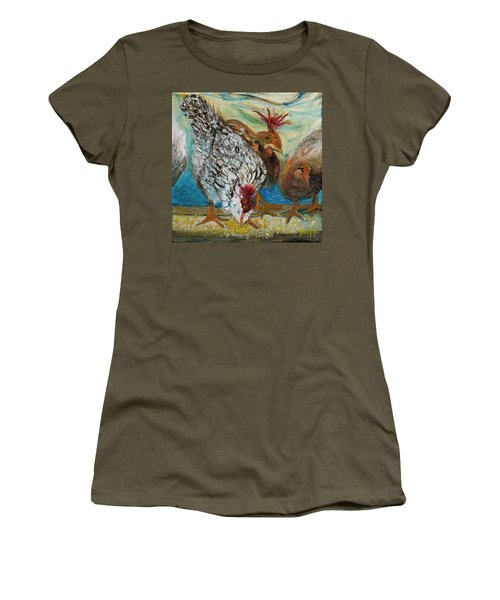 Crazy Chickens Women's T-Shirt