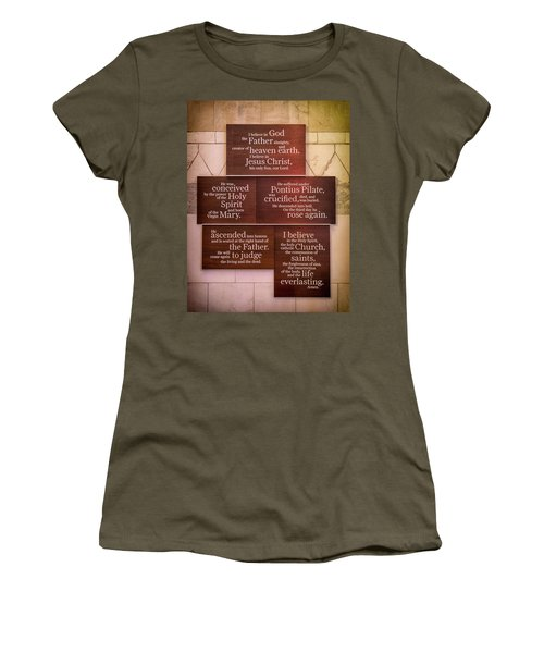 Creed Women's T-Shirt (Athletic Fit)