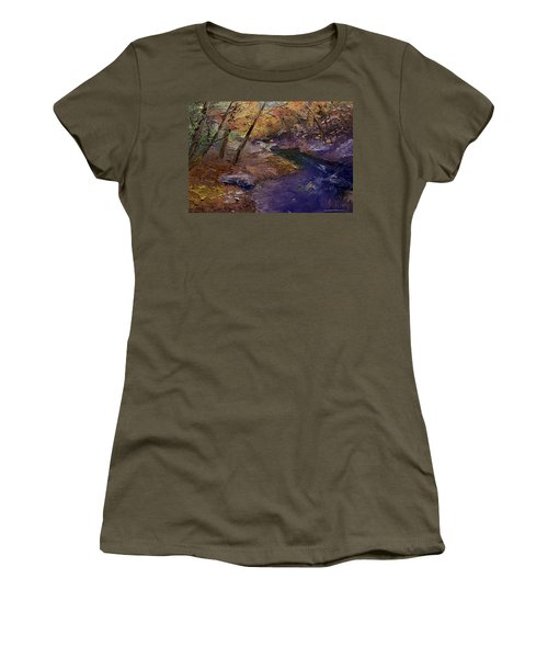 Creek Bank Women's T-Shirt