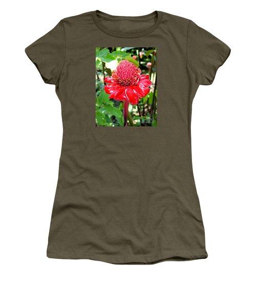 Crimson Bloom Women's T-Shirt