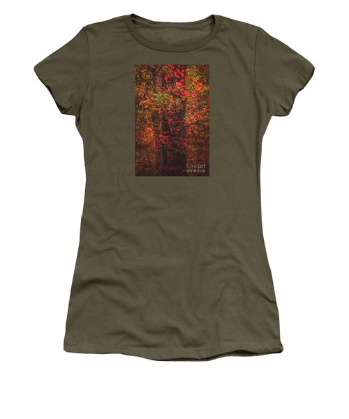 Crimson Fall Women's T-Shirt