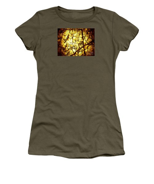 Women's T-Shirt (Junior Cut) featuring the photograph Crip L by Robin Coaker