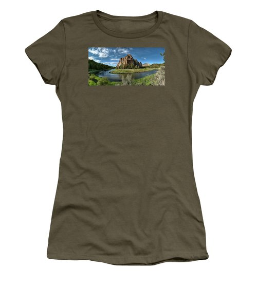 Crooked River And Smith Rock Women's T-Shirt