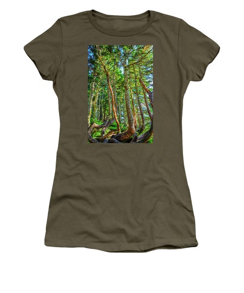 Crooked Trees Of Mt Roberts Women's T-Shirt