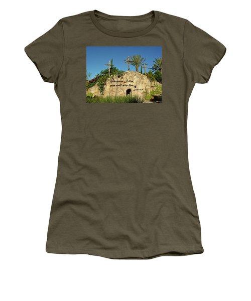 Crosses And Resurrection Women's T-Shirt