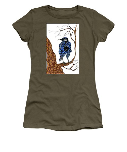 Crow Women's T-Shirt (Athletic Fit)
