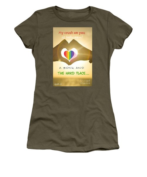 Crush  Women's T-Shirt (Athletic Fit)