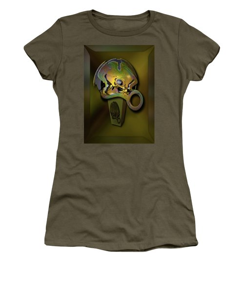 Crushing Affinity Women's T-Shirt (Junior Cut) by Steve Sperry