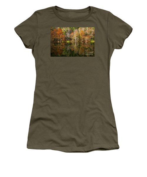 Women's T-Shirt (Junior Cut) featuring the photograph Crystal Clear by Iris Greenwell