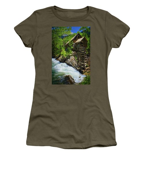 Crystal Mill Women's T-Shirt (Athletic Fit)