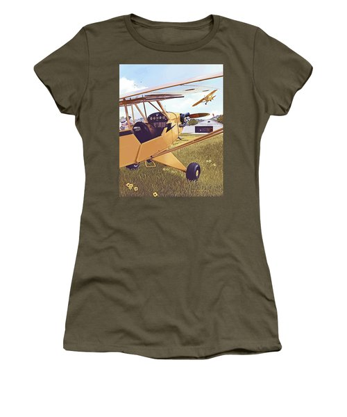 Cubbin' Women's T-Shirt (Athletic Fit)