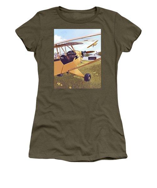 Cubbin' Women's T-Shirt (Athletic Fit)