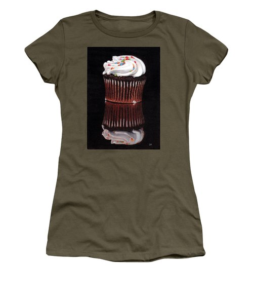 Cupcake Reflections Women's T-Shirt (Athletic Fit)