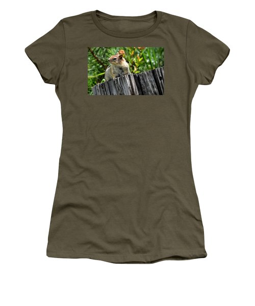 Curious Chipmunk Women's T-Shirt