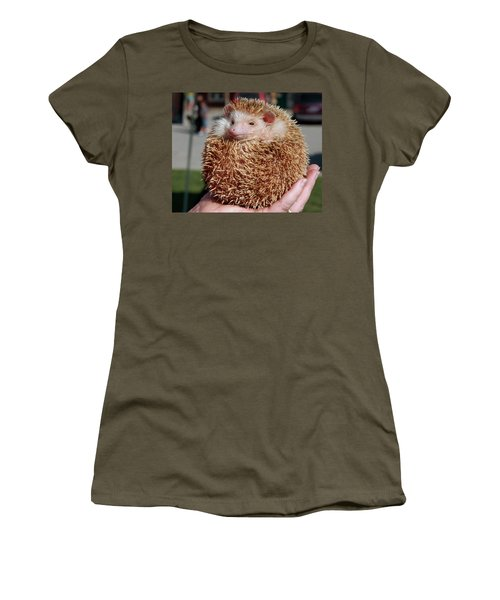 Cute Little Hedge Ball Women's T-Shirt (Athletic Fit)