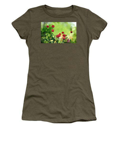 Dahlias Women's T-Shirt (Athletic Fit)