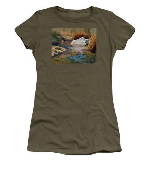 Dance Of Light On Bishop Creek Women's T-Shirt (Athletic Fit)