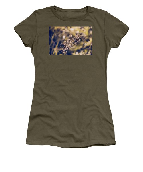 Women's T-Shirt (Athletic Fit) featuring the photograph Dance With Lights by Gene Garnace