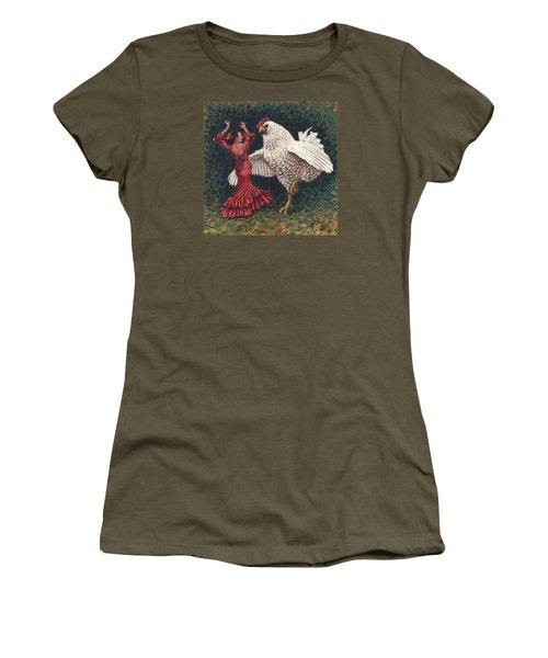 Dancers El Gallo Women's T-Shirt (Athletic Fit)