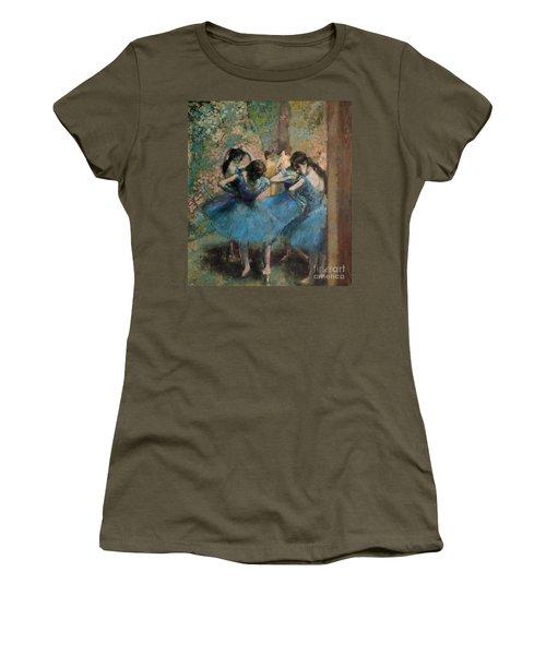 Dancers In Blue Women's T-Shirt