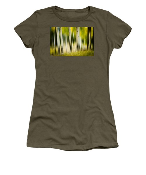 Dancing Aspens Women's T-Shirt