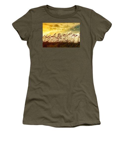 Dancing Sea Oats Women's T-Shirt