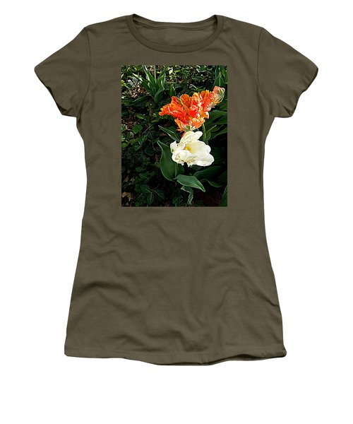 Women's T-Shirt (Junior Cut) featuring the photograph Dancing With The Stars by Nancy Kane Chapman