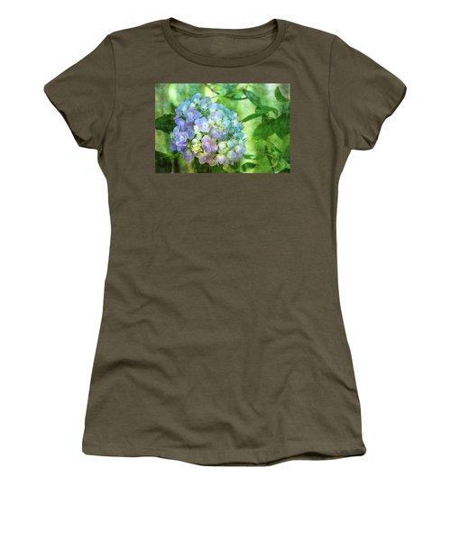 Dappled Light Hydrangea 2300 Idp_2 Women's T-Shirt