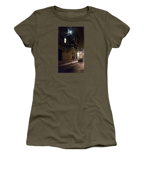 Dark And Rainy Night Women's T-Shirt