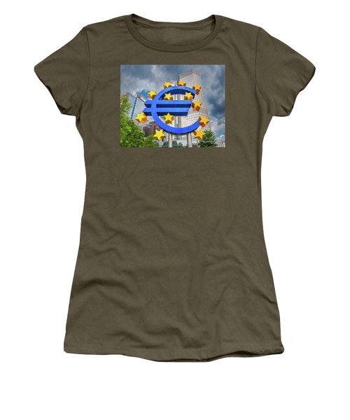 Money Troubles Women's T-Shirt (Junior Cut) by JR Photography