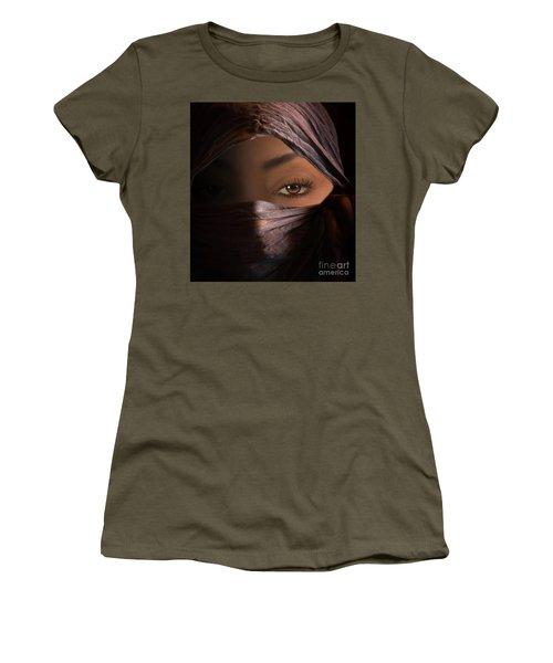 Women's T-Shirt (Junior Cut) featuring the photograph Dark Secrets by Jim  Hatch