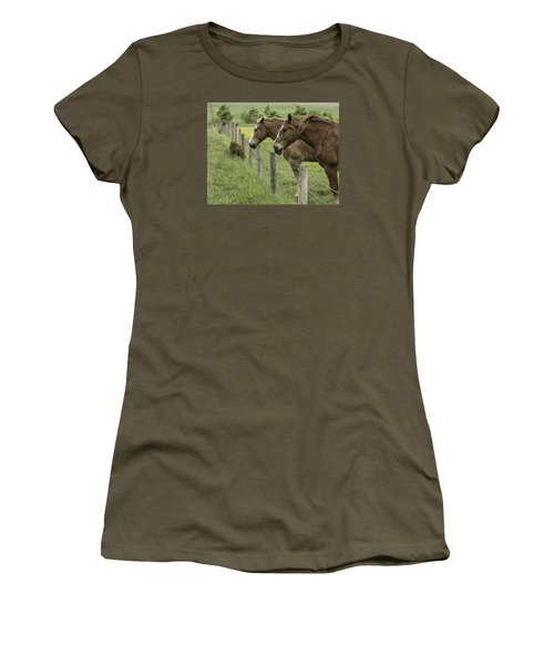Day Dreamers Women's T-Shirt (Junior Cut) by Elizabeth Eldridge