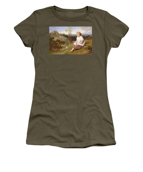 Daydreaming On The River Bank Women's T-Shirt