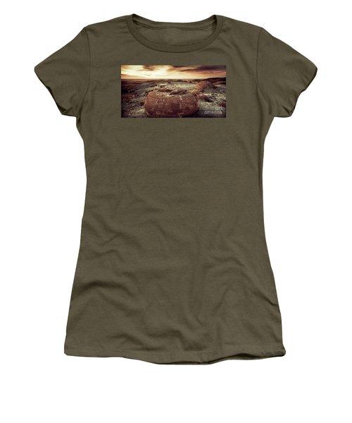Daylight Leaving Redrock Women's T-Shirt