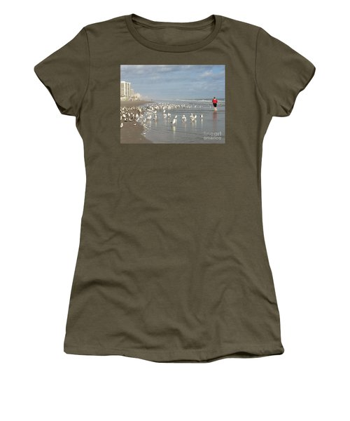 Daytona Morning Women's T-Shirt (Athletic Fit)