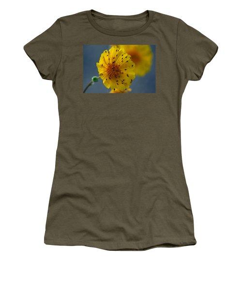 Women's T-Shirt (Junior Cut) featuring the photograph Death Valley Superbloom 102 by Daniel Woodrum