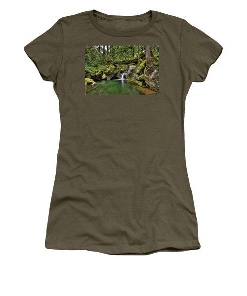 Deception Creek Women's T-Shirt (Athletic Fit)