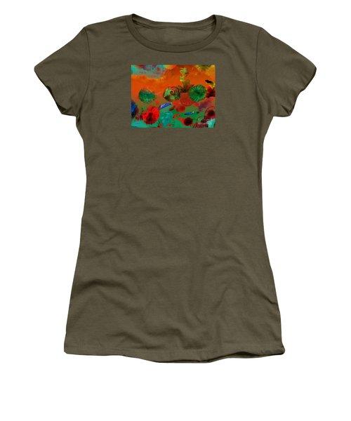 Deep In The Sea Women's T-Shirt (Junior Cut) by Haleh Mahbod