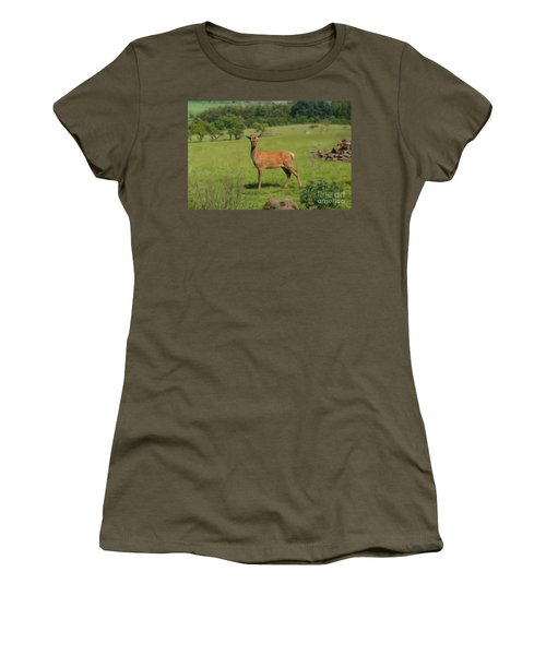 Deer Calf. Women's T-Shirt