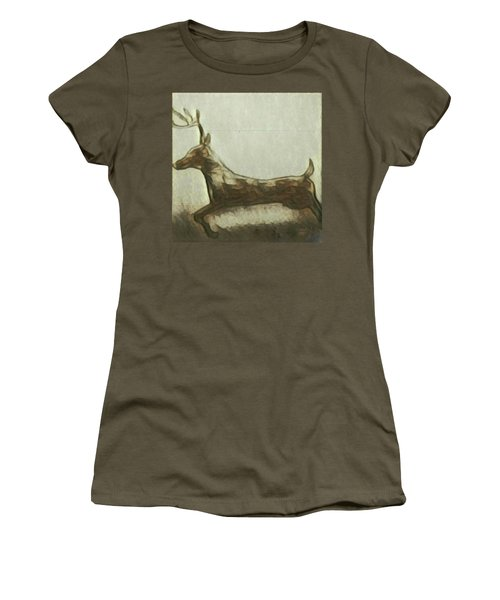 Deer Energy Women's T-Shirt (Athletic Fit)