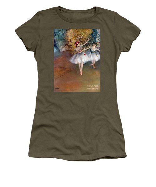 Degas: Dancers, C1877 Women's T-Shirt