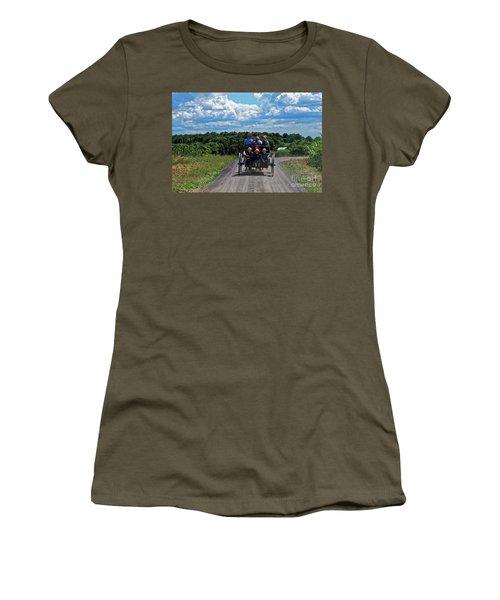 Delano Children Women's T-Shirt (Junior Cut) by Paul Mashburn