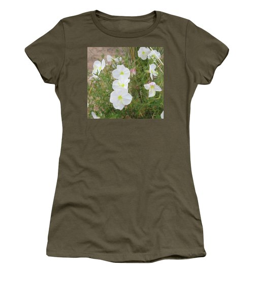 Delicate Desert Bloom - Death Valley Women's T-Shirt