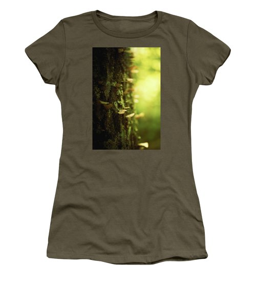 Delicate Touches Women's T-Shirt (Athletic Fit)